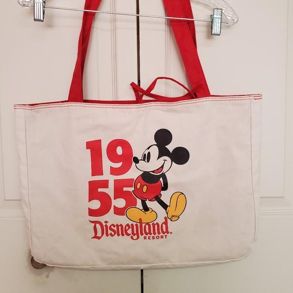 Disney Handbags - Disney parks 1955 DL Micket reversible tote bag
